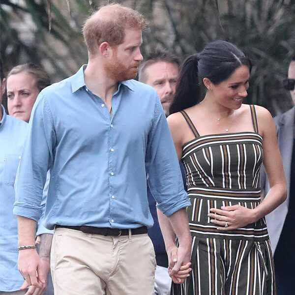 Prince Harry, Meghan Markle, Baby Cradle